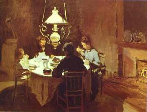 Claude Monet - The Dinner