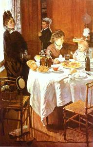 Claude Monet - The Luncheon
