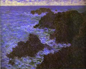 Claude Monet - The Rocks of Belle-Ile