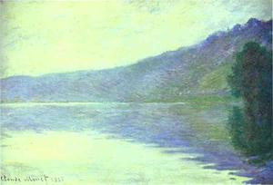 Claude Monet - The Seine at Port-Villez. The Harmony in Blue