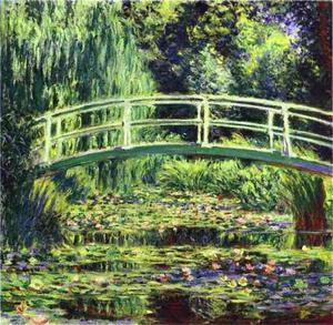 Claude Monet - The White Water Lilies