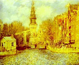 Claude Monet - Zuiderkerk in Amsterdam