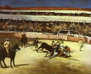 Edouard Manet - Bull-fighting scene