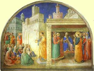 Fra Angelico - St. Stephen Preaching