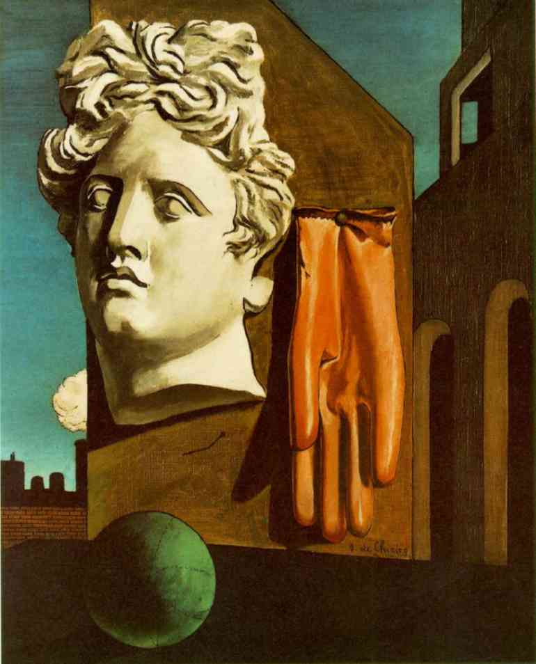 Song of Love, Sculpture by Giorgio De Chirico (1888-1978, Greece)