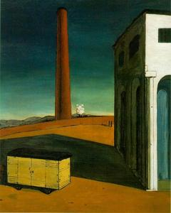 Giorgio De Chirico - The anguish of departure