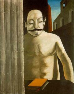 Giorgio De Chirico - The Child's Brain - (Famous paintings reproduction)
