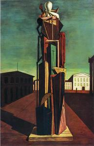 Giorgio De Chirico - The Great Metaphysician - (oil painting reproductions)