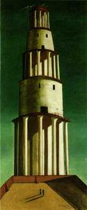 Giorgio De Chirico - The Great Tower