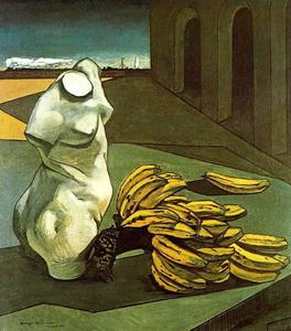Giorgio De Chirico - The Uncertainty of the Poet - (Famous paintings)