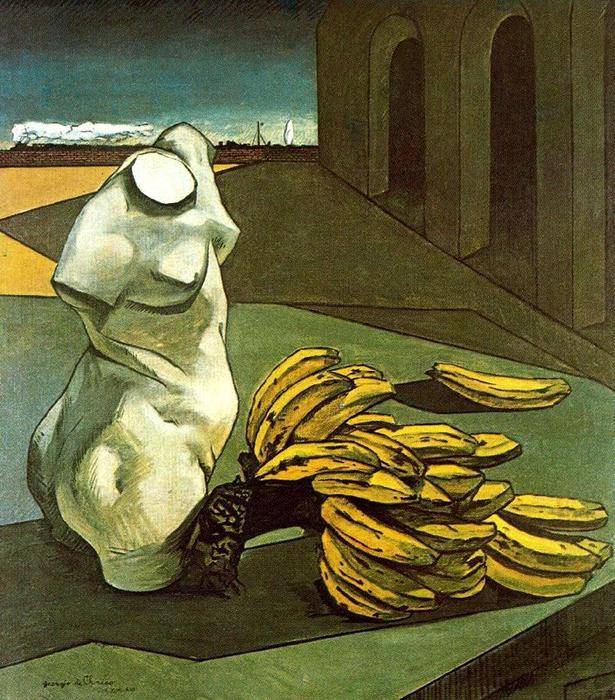 The Uncertainty of the Poet, Oil On Canvas by Giorgio De Chirico (1888-1978, Greece)