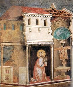 Giotto Di Bondone - Legend of St Francis - [04] - Miracle of the Crucifix
