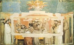 Giotto Di Bondone - Life of Saint Francis - [04] - Death and Ascension of St Francis
