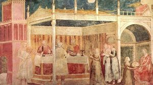 Giotto Di Bondone - Life of St John the Baptist - [03] - Feast of Herod