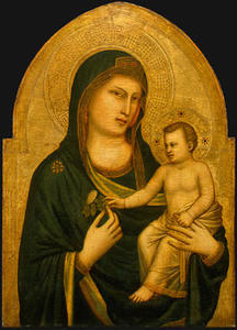 Giotto Di Bondone - Madonna and Child