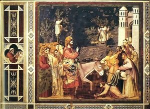 Giotto Di Bondone - Scrovegni - [26] - Entry into Jerusalem