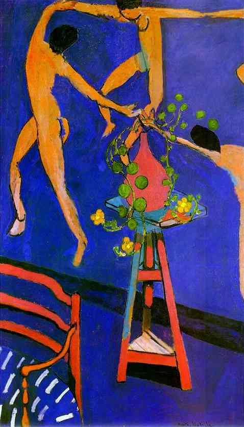 La Danse with Nasturtiums by Henri Matisse (1869-1954, France) | Famous Paintings Reproductions | WahooArt.com