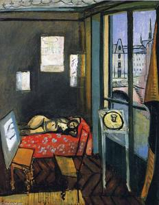 Henri Matisse - Studio, Quay of Saint-Michel