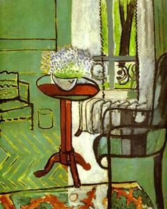 Henri Matisse - The Window (Interior with Forget-Me-Nots)