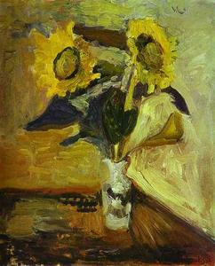 Henri Matisse - Vase of Sunflowers