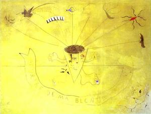 Joan Miro - Bouquet of Flowers. Smile of My Blond. (Sourire de ma blonde)