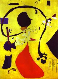 Joan Miro - Dutch Interior