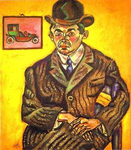 Joan Miro - Portrait of Hiberto Casany. (The Chauffeur)
