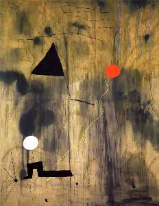 Joan Miro - The Birth of the World - (paintings reproductions)