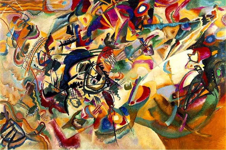 Composition VII, 1913 by Wassily Kandinsky (1866-1944, Russia) | Reproductions Wassily Kandinsky | WahooArt.com