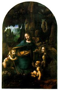 Leonardo Da Vinci - Virgin of the Rocks - London