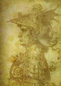 Leonardo Da Vinci - Antique Warrior