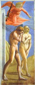Masaccio (Ser Giovanni, Mone Cassai) - The Expulsion from Paradise
