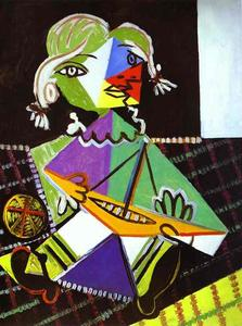 Pablo Picasso - Girl with a Boat (Maya Picasso)