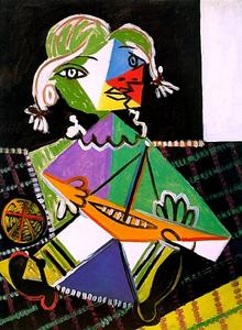 Pablo Picasso - Girl with a Boat