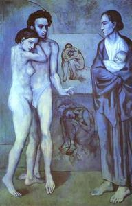 Pablo Picasso - La Vie (Life) - (paintings reproductions)