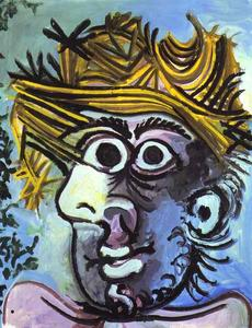 Pablo Picasso - Portrait of Man in a Hat