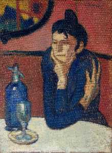 Pablo Picasso - The Absinthe Drinker