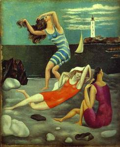 Pablo Picasso - The Bathers
