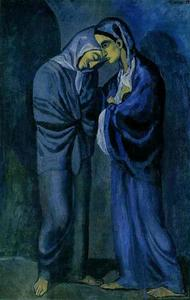 Pablo Picasso - The Visit (Two Sisters)
