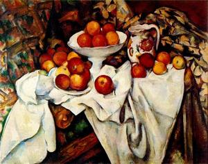 Paul Cezanne - Apples and Oranges