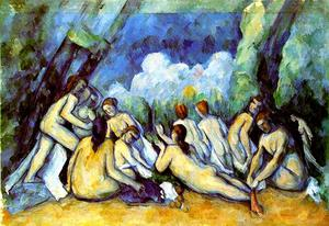 Paul Cezanne - Bathers (london)