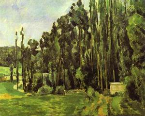 Paul Cezanne - Poplar Trees