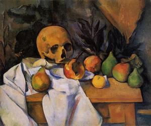 Paul Cezanne - Still Life with Skull