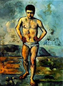 Paul Cezanne - The Bather