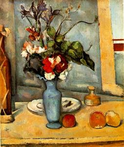Paul Cezanne - The Blue Vase
