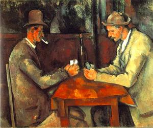 Paul Cezanne - The Card Players (Louvre)