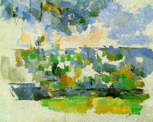 Paul Cezanne - The Garden at Les Lauves