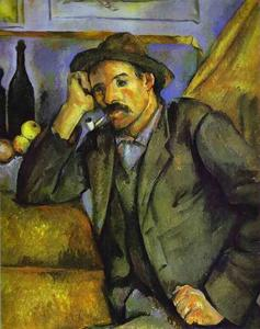 Paul Cezanne - The Smoker