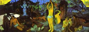 Paul Gauguin - D-où venons nous Que sommes-nous Où allons-nous (Where Do We come from. What Are We. where Are We Going)