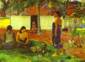 Paul Gauguin - No te aha oe riri (Why Are You Angry)